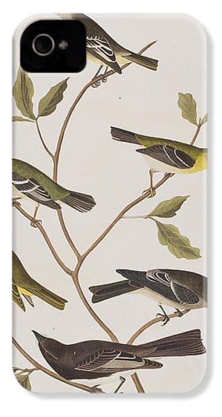 Fly Catchers IPhone 4 Case by John James Audubon