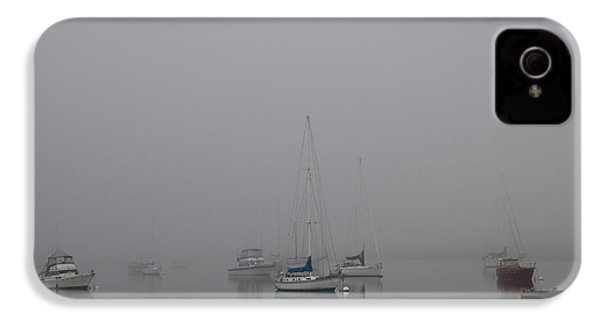 IPhone 4 Case featuring the photograph Waiting Out The Fog by David Chandler