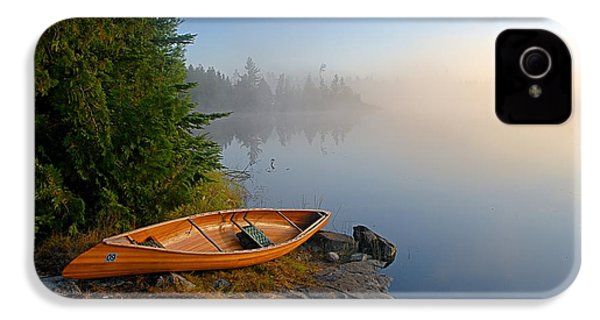 Foggy Morning On Spice Lake IPhone 4 Case