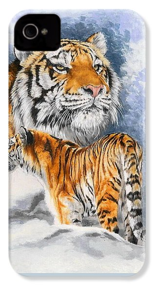 Forceful IPhone 4 Case by Barbara Keith