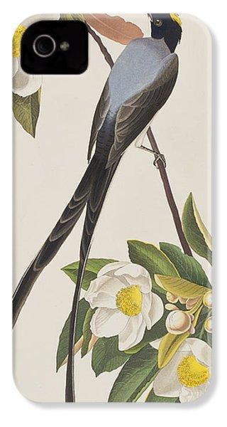 Fork-tailed Flycatcher  IPhone 4 / 4s Case by John James Audubon