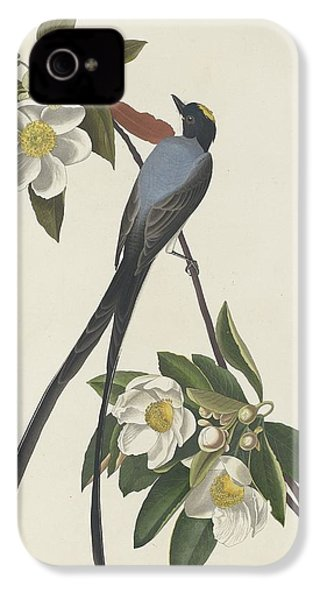Forked-tail Flycatcher IPhone 4 Case