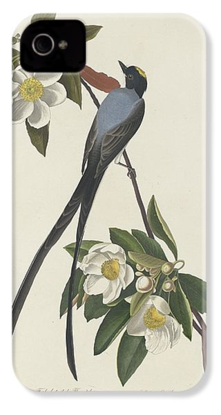 Forked-tail Flycatcher IPhone 4 Case by Rob Dreyer