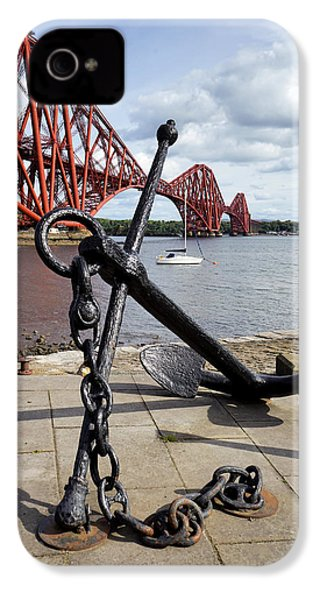 IPhone 4 Case featuring the photograph Forth Bridge by Jeremy Lavender Photography