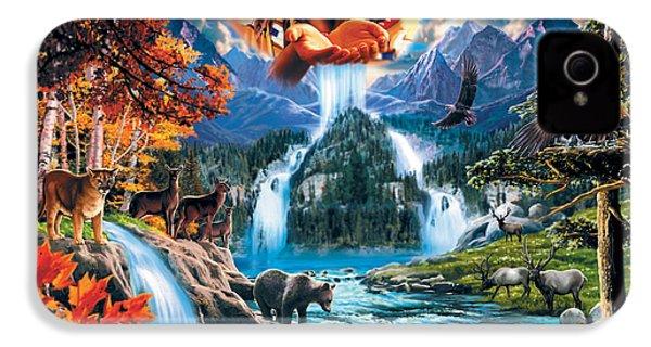 Four Seasons IPhone 4 Case by Robin Koni