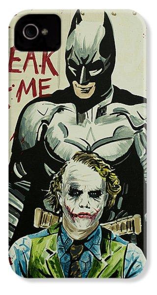 Freak Like Me IPhone 4 Case by James Holko