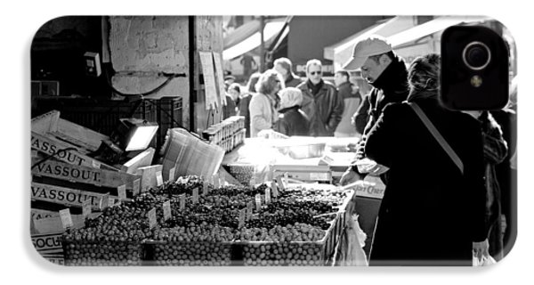 French Street Market IPhone 4 / 4s Case by Sebastian Musial