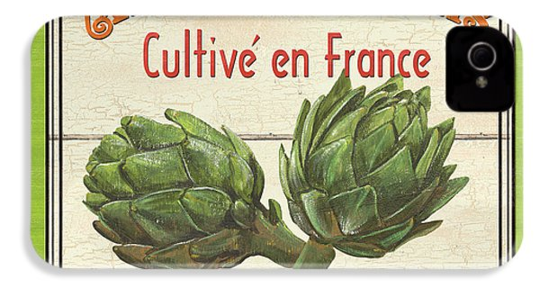 French Vegetable Sign 2 IPhone 4 / 4s Case by Debbie DeWitt