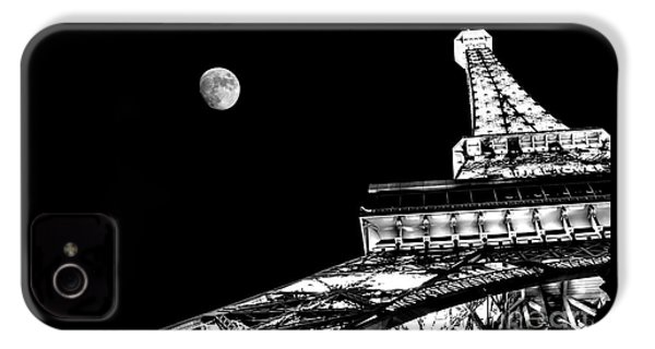 From Paris With Love IPhone 4 Case by Az Jackson