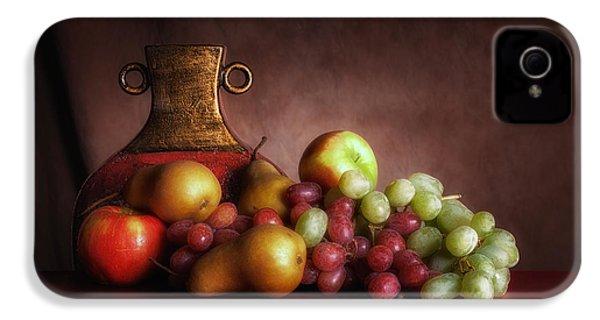 Fruit With Vase IPhone 4 / 4s Case by Tom Mc Nemar