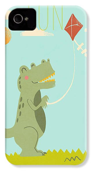 Fun IPhone 4 / 4s Case by Nicole Wilson