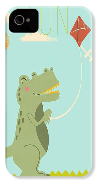 Fun IPhone 4 Case by Nicole Wilson