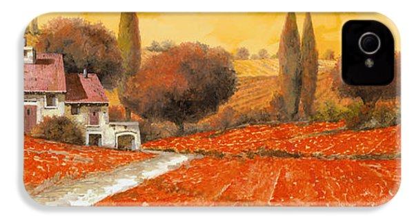 fuoco di Toscana IPhone 4 Case