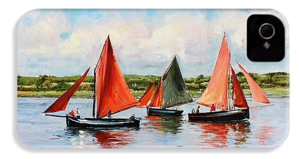 Galway Hookers IPhone 4 Case by Conor McGuire