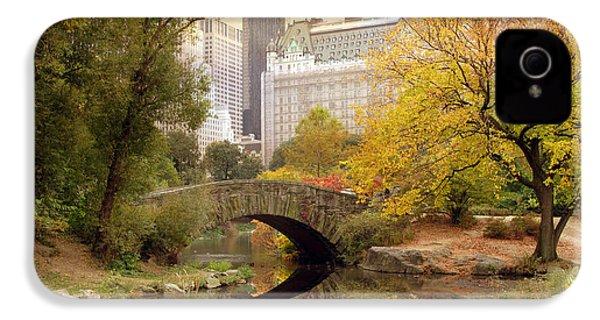Gapstow Bridge Reflections IPhone 4 Case by Jessica Jenney