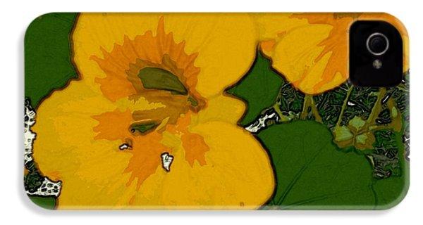 Garden Love IPhone 4 Case by Winsome Gunning