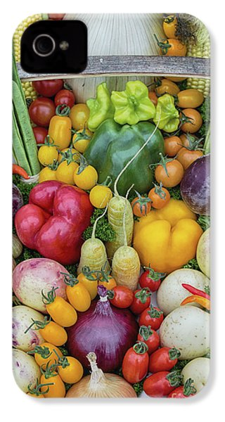Garden Produce IPhone 4 Case by Tim Gainey