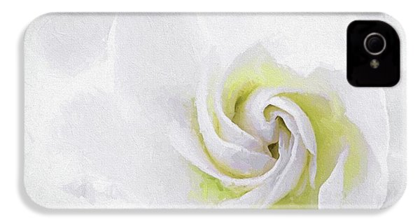 Gardenia Swirl  IPhone 4 Case by JC Findley