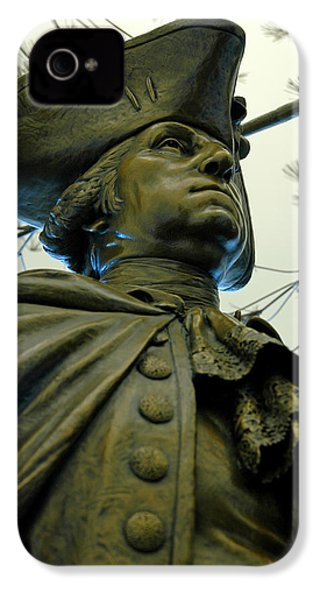 General George Washington IPhone 4 Case by LeeAnn McLaneGoetz McLaneGoetzStudioLLCcom