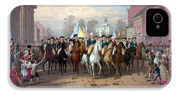 General Washington Enters New York IPhone 4 Case by War Is Hell Store