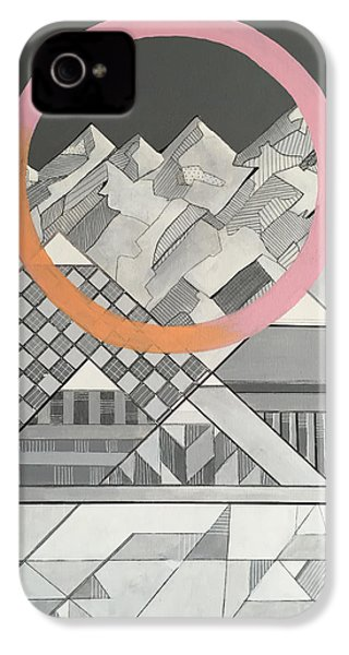 Geometry's Mountain IPhone 4 / 4s Case by Sara Cannon
