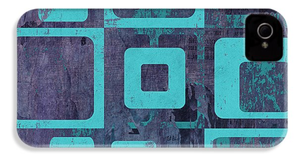 Geomix 02 - Sp06c6b IPhone 4 / 4s Case by Variance Collections