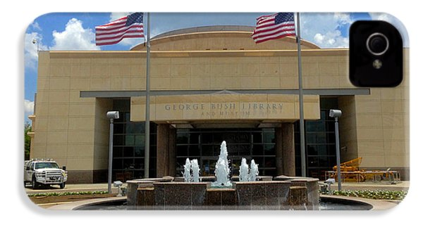 George Bush Library And Museum IPhone 4 Case by Art Spectrum