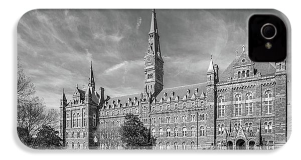 Georgetown University Healy Hall IPhone 4 / 4s Case by University Icons