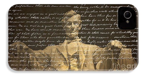 Gettysburg Address IPhone 4 Case