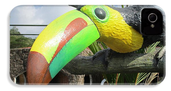 Giant Toucan IPhone 4 Case by Randall Weidner