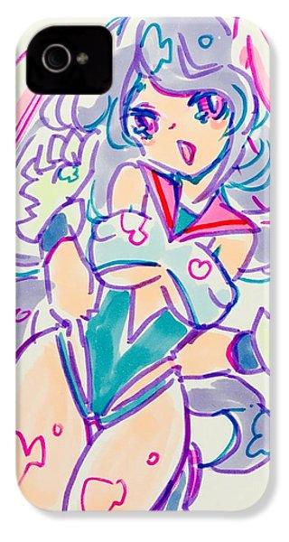 Girl02 IPhone 4 Case