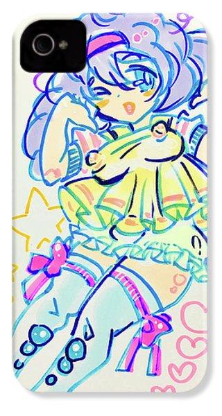Girl04 IPhone 4 Case