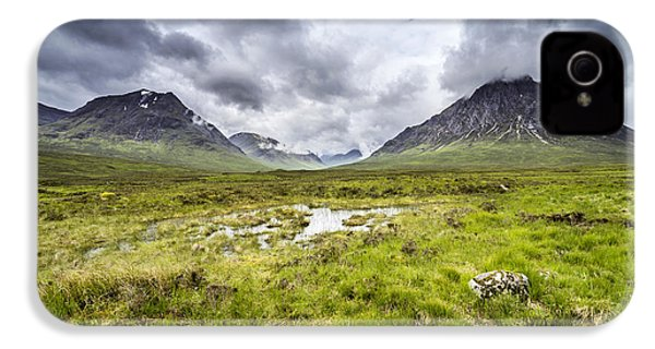 IPhone 4 Case featuring the photograph Glencoe by Jeremy Lavender Photography