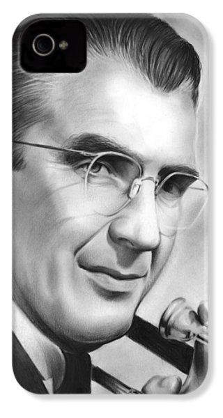 Glenn Miller IPhone 4 Case by Greg Joens