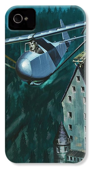 Glider Escape From Colditz Castle IPhone 4 / 4s Case by Wilf Hardy