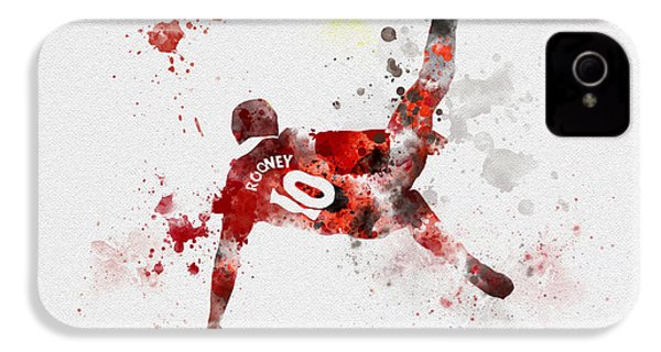 Goal Of The Season IPhone 4 Case by Rebecca Jenkins