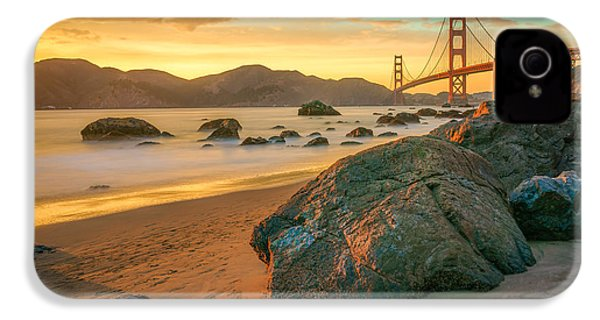 Golden Gate Sunset IPhone 4 Case by James Udall