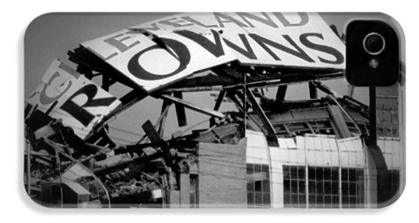 Goodbye Cleveland Stadium IPhone 4 Case