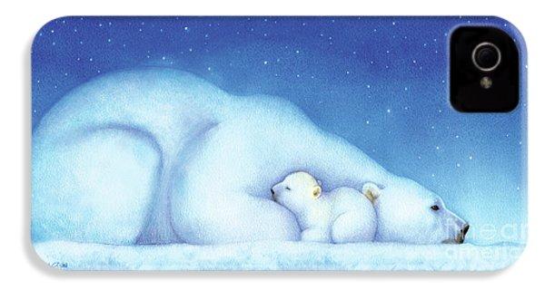 Arctic Bears, Goodnight Nanook IPhone 4 Case