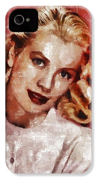 Grace Kelly, Actress And Princess IPhone 4 Case