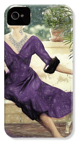 Grace Kelly Draw IPhone 4 Case