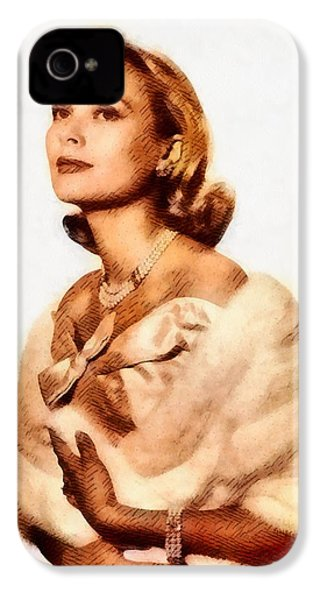 Grace Kelly, Vintage Actress By John Springfield IPhone 4 Case