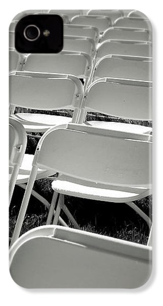 Graduation Day- Black And White Photography By Linda Woods IPhone 4 Case by Linda Woods