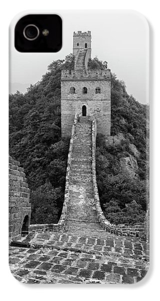 IPhone 4 Case featuring the photograph Great Wall 1, Jinshanling, 2016 by Hitendra SINKAR