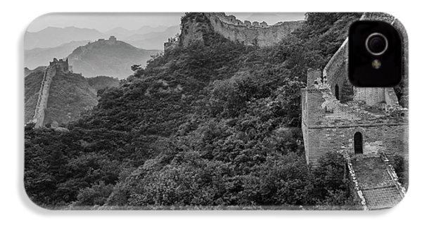 IPhone 4 Case featuring the photograph Great Wall 3, Jinshanling, 2016 by Hitendra SINKAR
