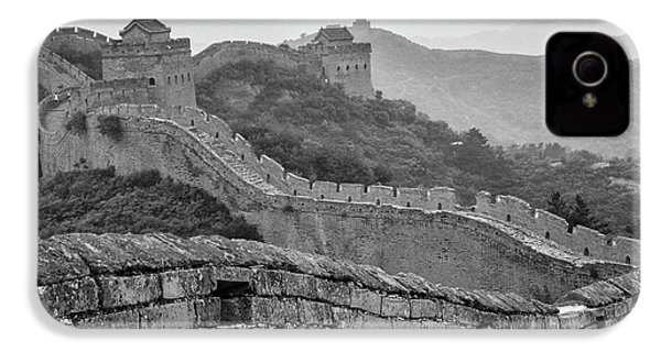 Great Wall 7, Jinshanling, 2016 IPhone 4 Case by Hitendra SINKAR