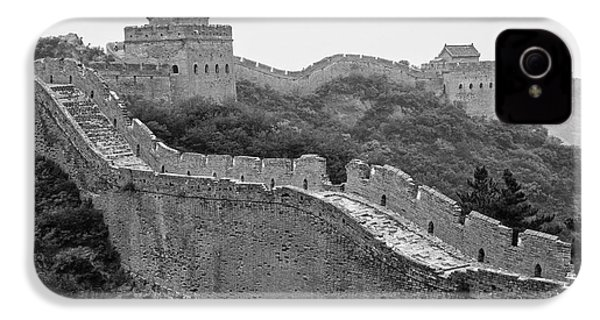 IPhone 4 Case featuring the photograph Great Wall 8, Jinshanling, 2016 by Hitendra SINKAR