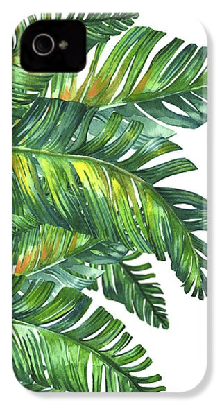 Green Tropic  IPhone 4 Case by Mark Ashkenazi