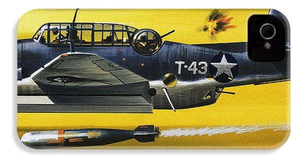 Grummen Tbf1 Avenger Bomber IPhone 4 Case by Wilf Hardy