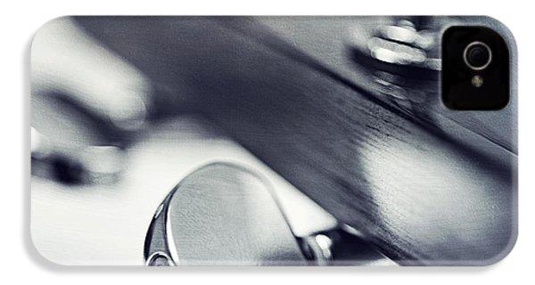 guitar I IPhone 4 Case by Priska Wettstein
